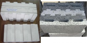 EPS Insulation Insert used in Building