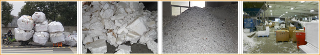 eps crusher for shredding eps flakes
